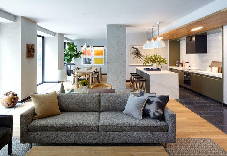Chealsea Landmark, 55 West 25th St., NYC Interior Design: Kevin Dumais, Architecture: Naiztat + Ham